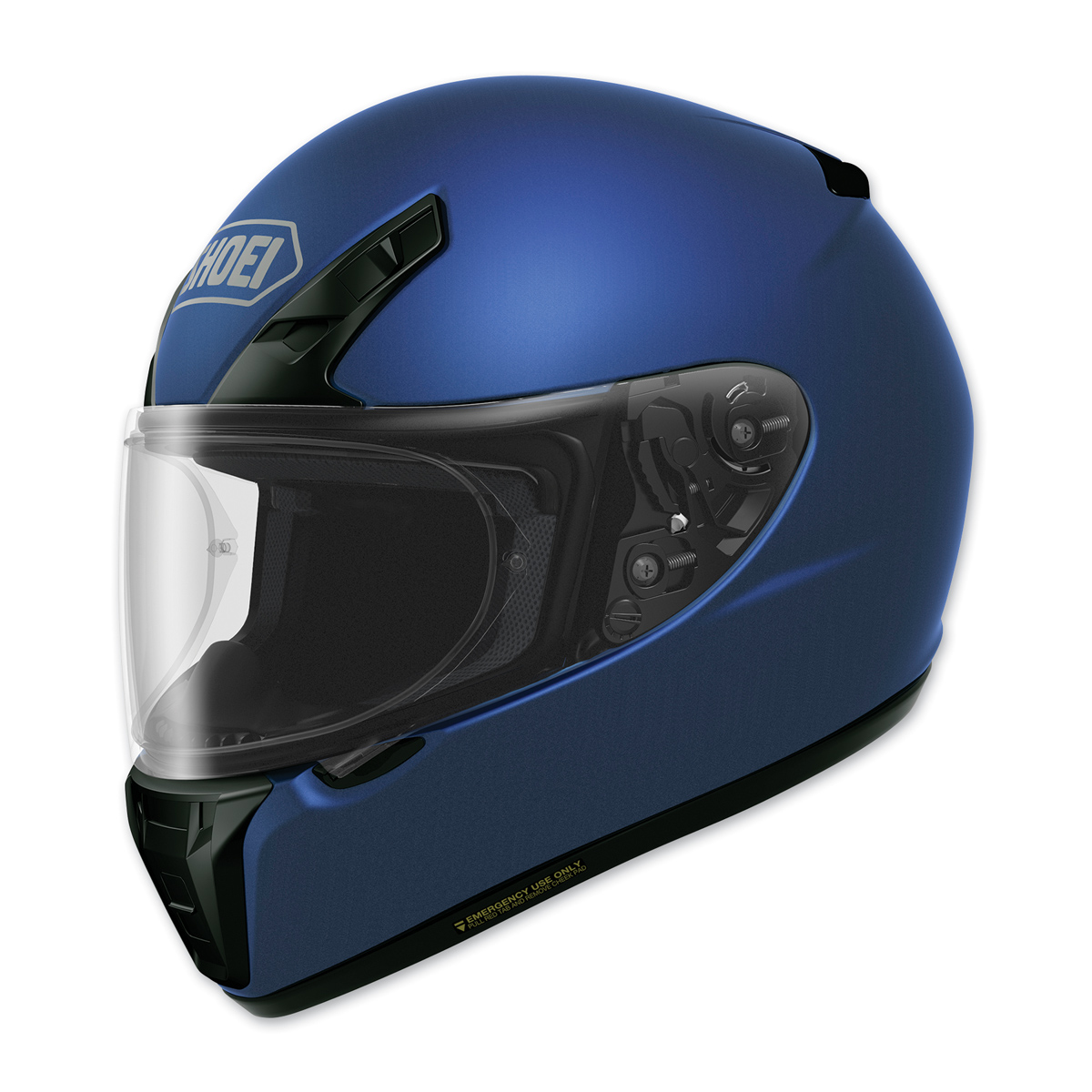 a1211c8c Shoei RF-SR Matte Blue Full Face Helmet - 0107-0132-03 | JPCycles.com