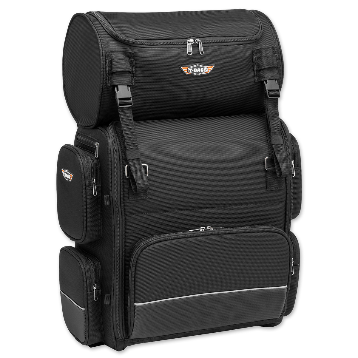 T-Bags Lonestar Bag with Soft Roll Bag   835-056   J&P Cycles