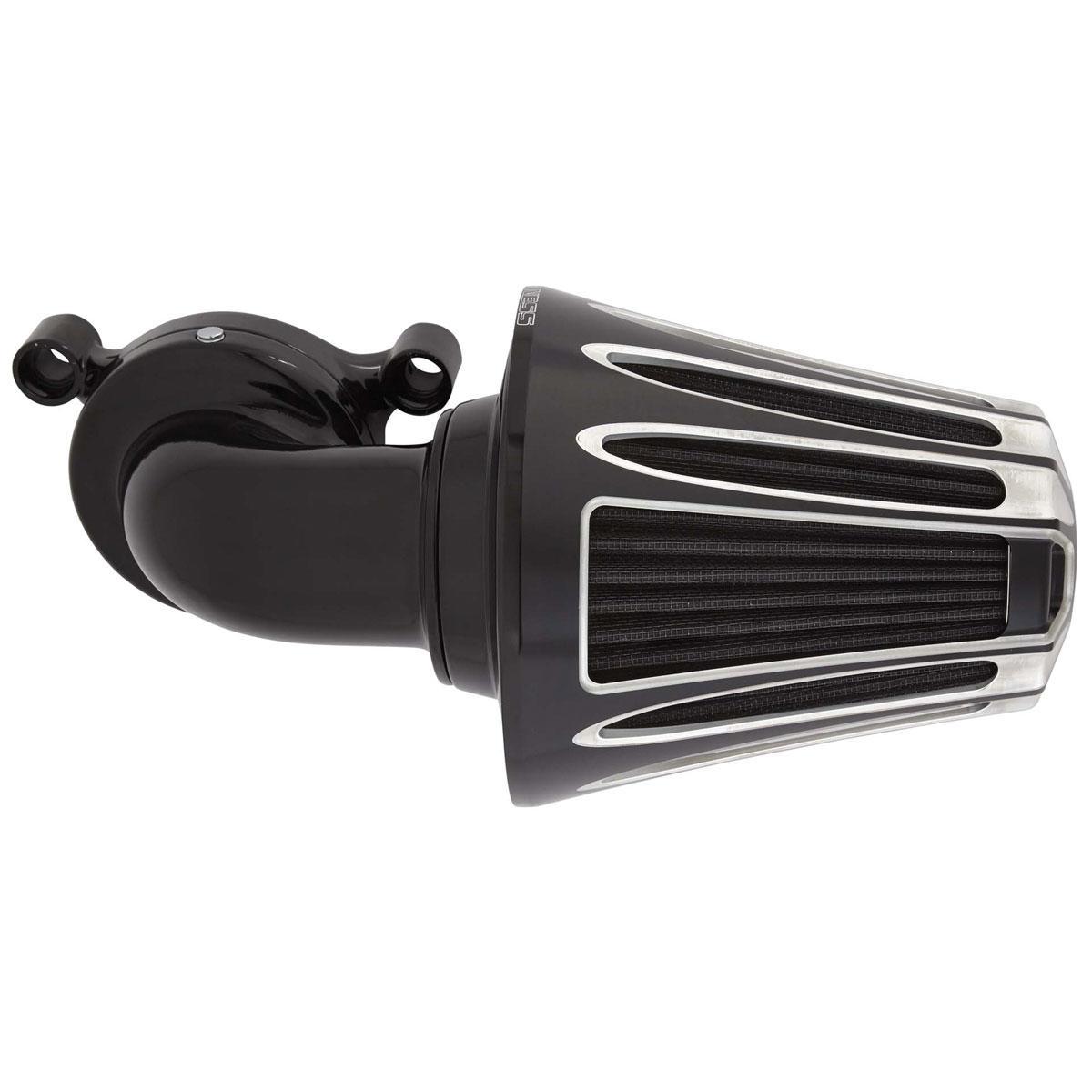 Arlen Ness 90 Degree Monster Sucker Air Cleaner Deep Cut Cover Black