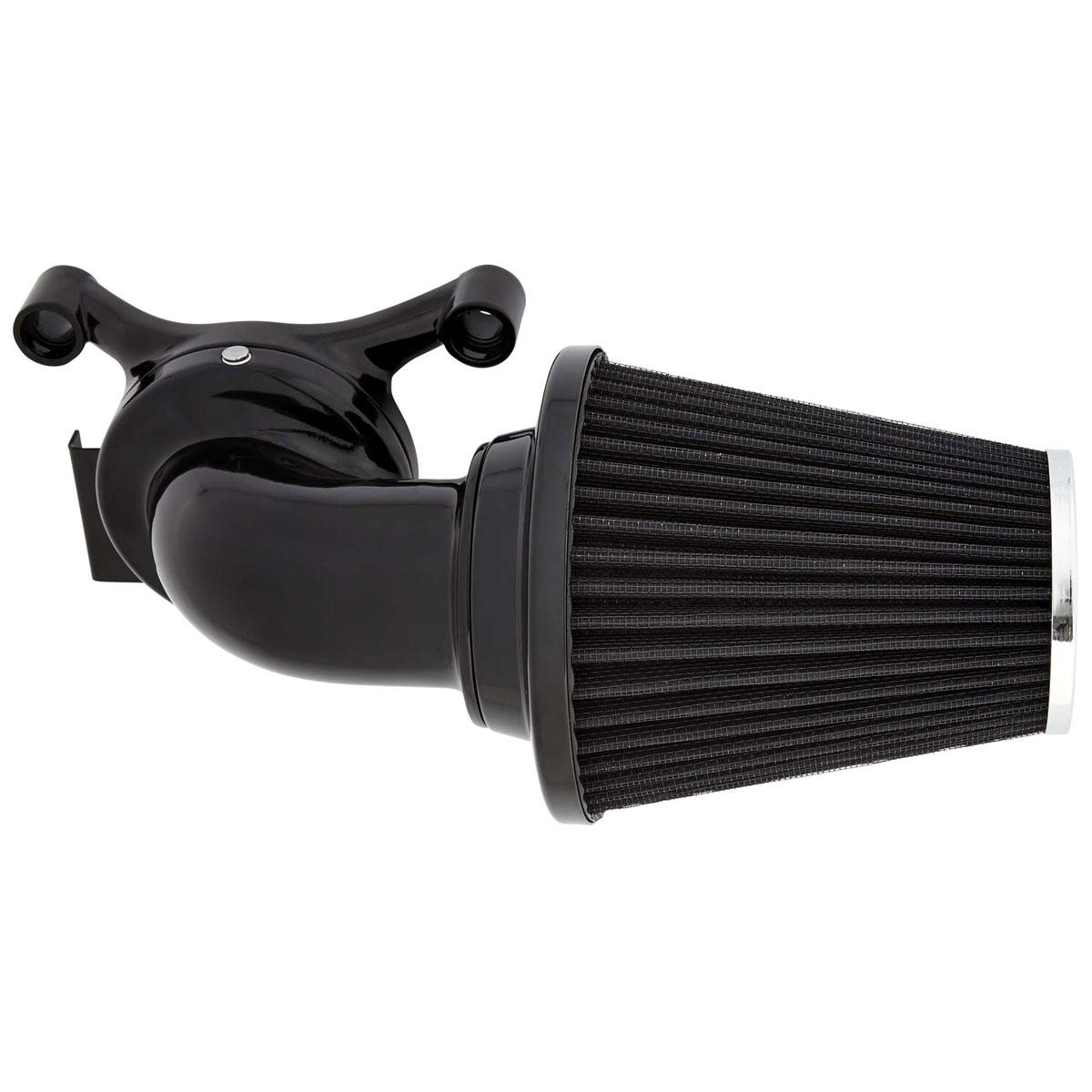 Arlen Ness 90? Monster Sucker Air Cleaner No Cover Black