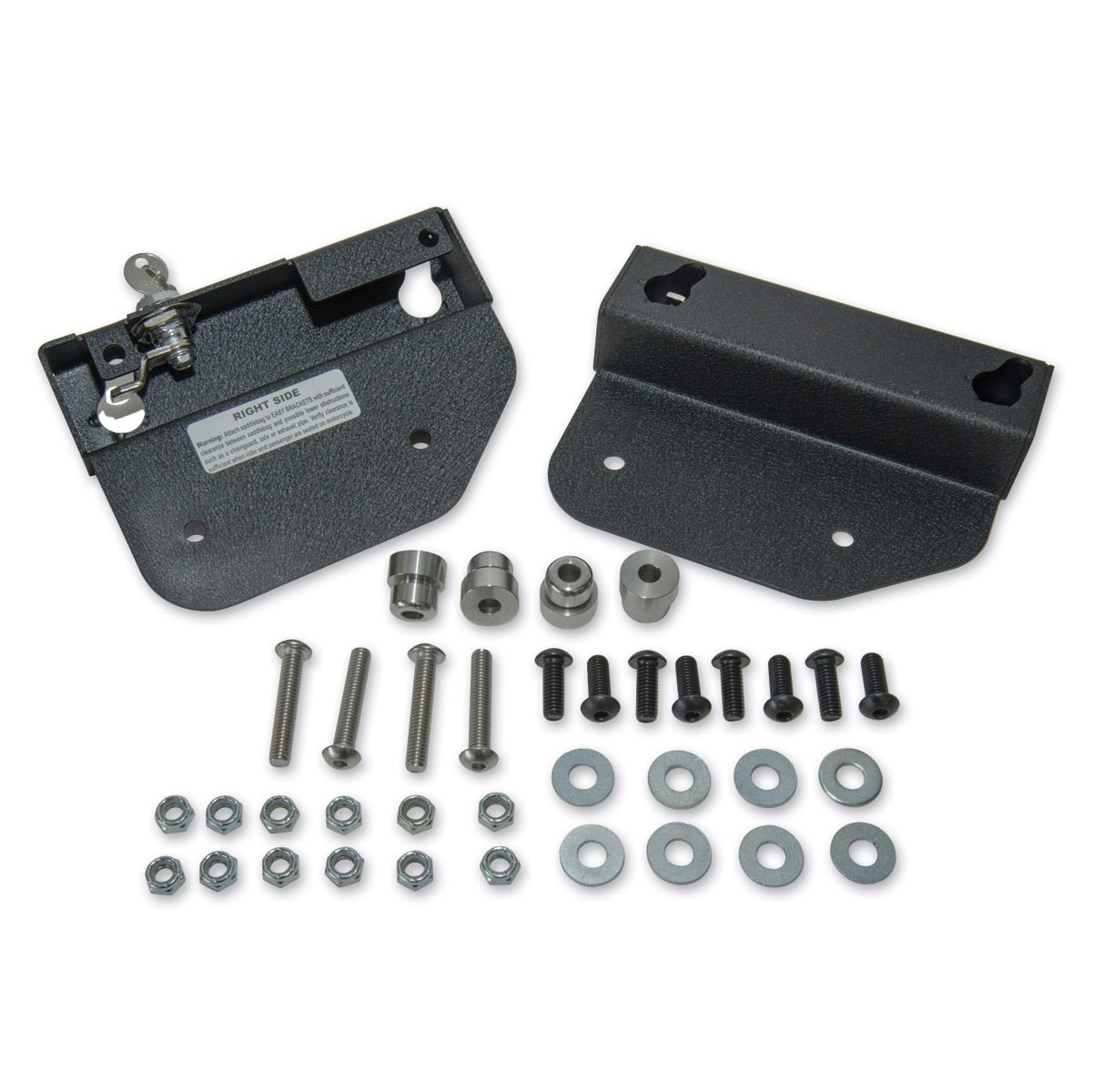 Easy brackets saddlebag mounting system 840 059 j p cycles