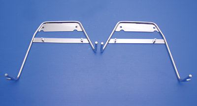 Replica 'Bubble' Saddlebag Bracket Set