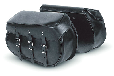 Carroll Leather Heavy Duty Leather Saddlebags