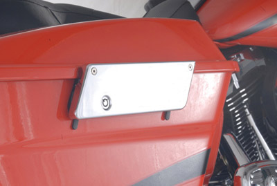 Saddlebag Latch Cover Plate Kit