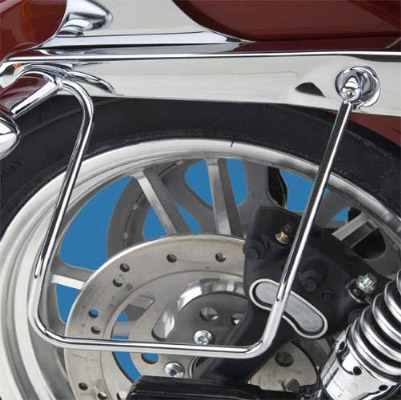 Khrome Werks Saddlebag Support Brackets for FXD and FXDWG