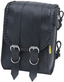 Willie & Max Braided Collection Sissy Bar Bag