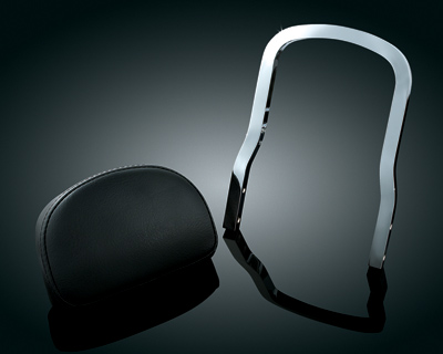 Kuryakyn Plug-N-Play Removable Backrest Pad