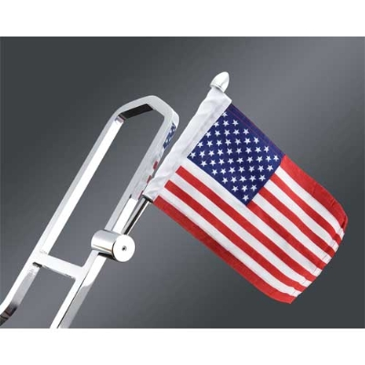 J&P Cycles® Square Sissy Bar Flag Mount Kit