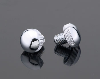 J&P Cycles® Knurled Solo Seat Knob
