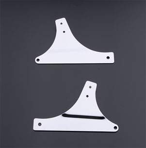 Milwaukee Twins Sissy Bar Side Plates