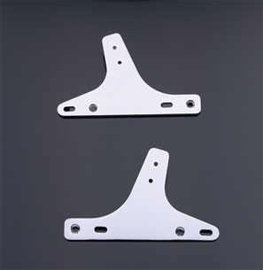 Chrome Sissy Bar Side Plates