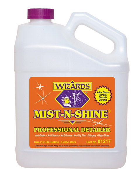Wizards Gallon Mist-N-Shine Detailer