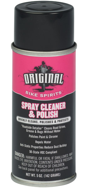 Spray Cleaner and Polish 5 Ounce Aerosol