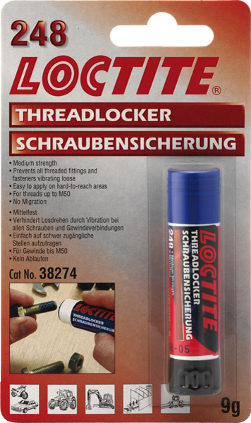 Loctite Blue Stick Threadlocker