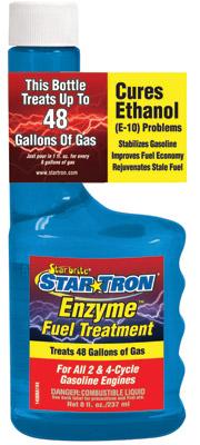 Starbrite's Star Tron  8 oz. Enzyme Fuel Treatment