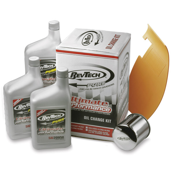 "RevTech ""Pure"" Oil Change Convenience Pack for Sportster and Evo Big Twin"