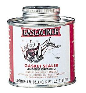 Gasgacinch Gasket Sealer and Belt Dressing