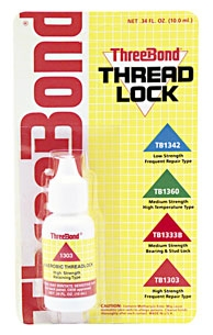 Three Bond High Strength Thread Lock Compound