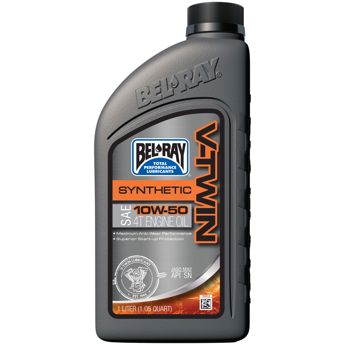 Bel-Ray V-Twin Synthetic 10W50 Engine Oil 1 Liter