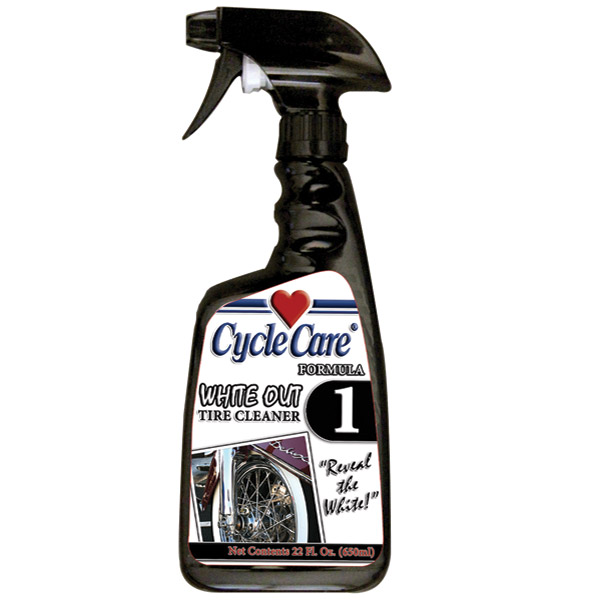 Cycle Care Formula 1 Whitewall Tire and Wheel Cleaner