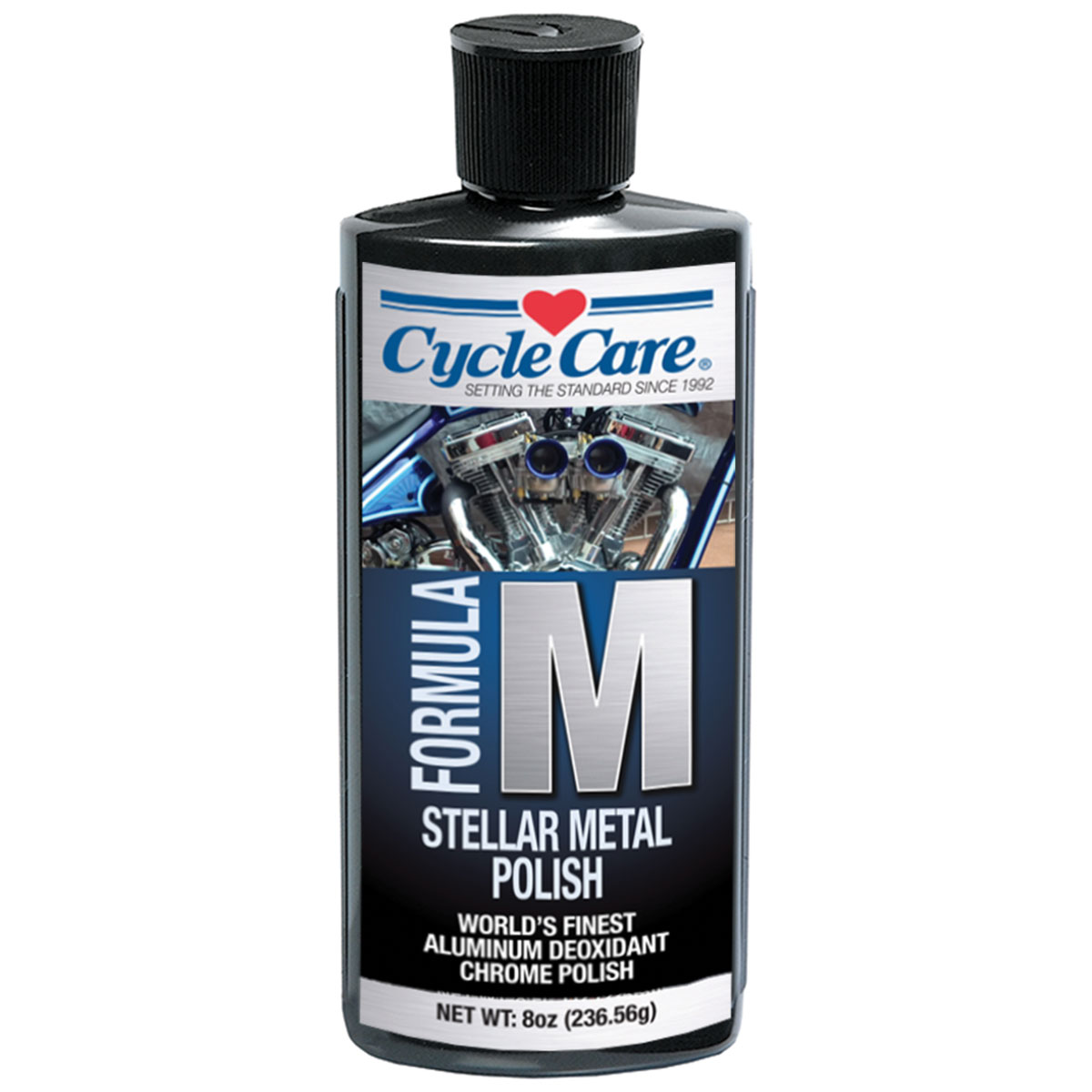 Cycle Care Formula M Motorcycle Metal Polish