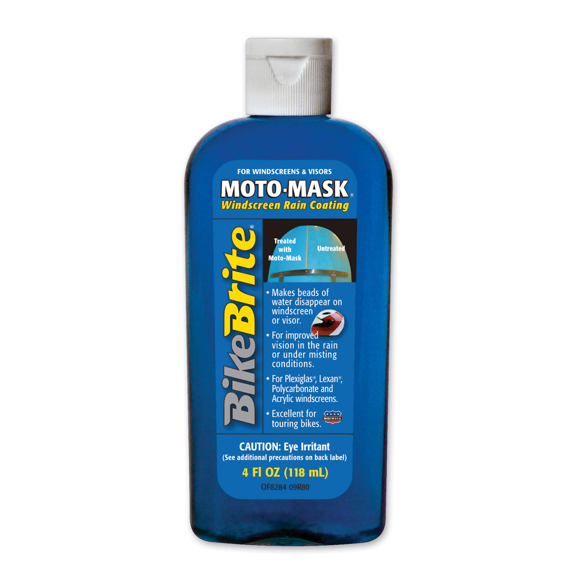 Bike Brite Moto Mask Windscreen Rain Coating