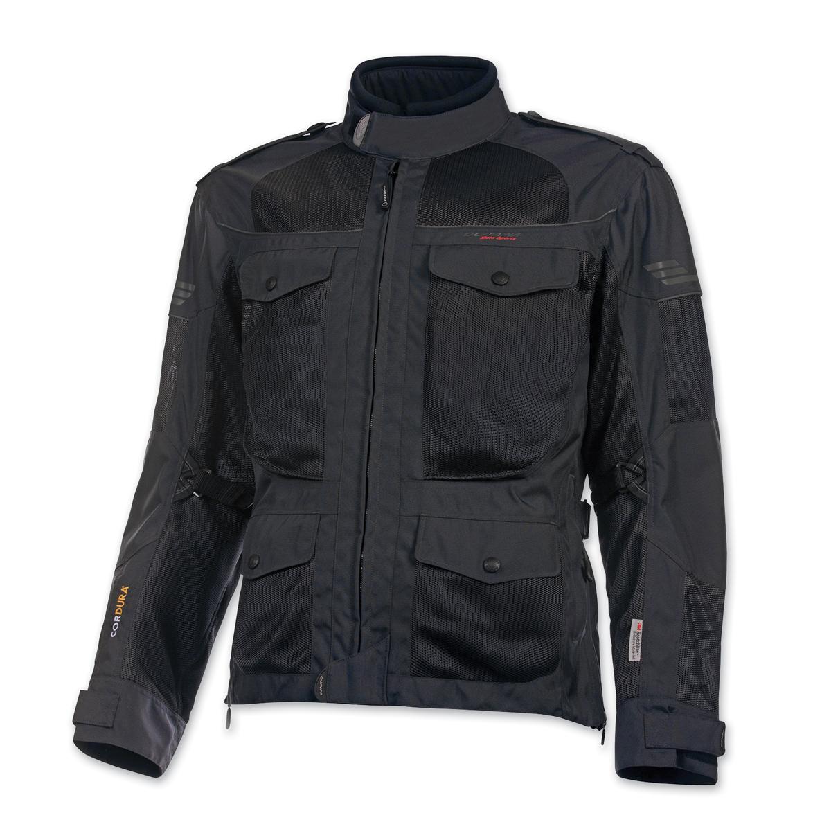 Olympia Moto Sports Men's Alpha Slate Jacket