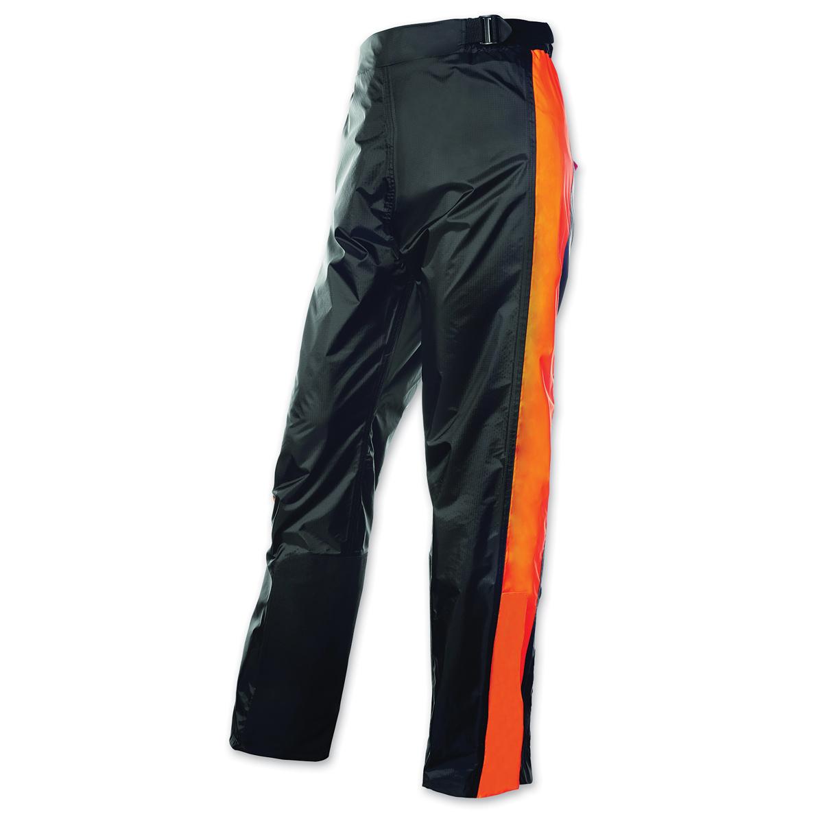 Olympia Moto Sports Unisex Horizon Neon Orange/Black Rain Pant