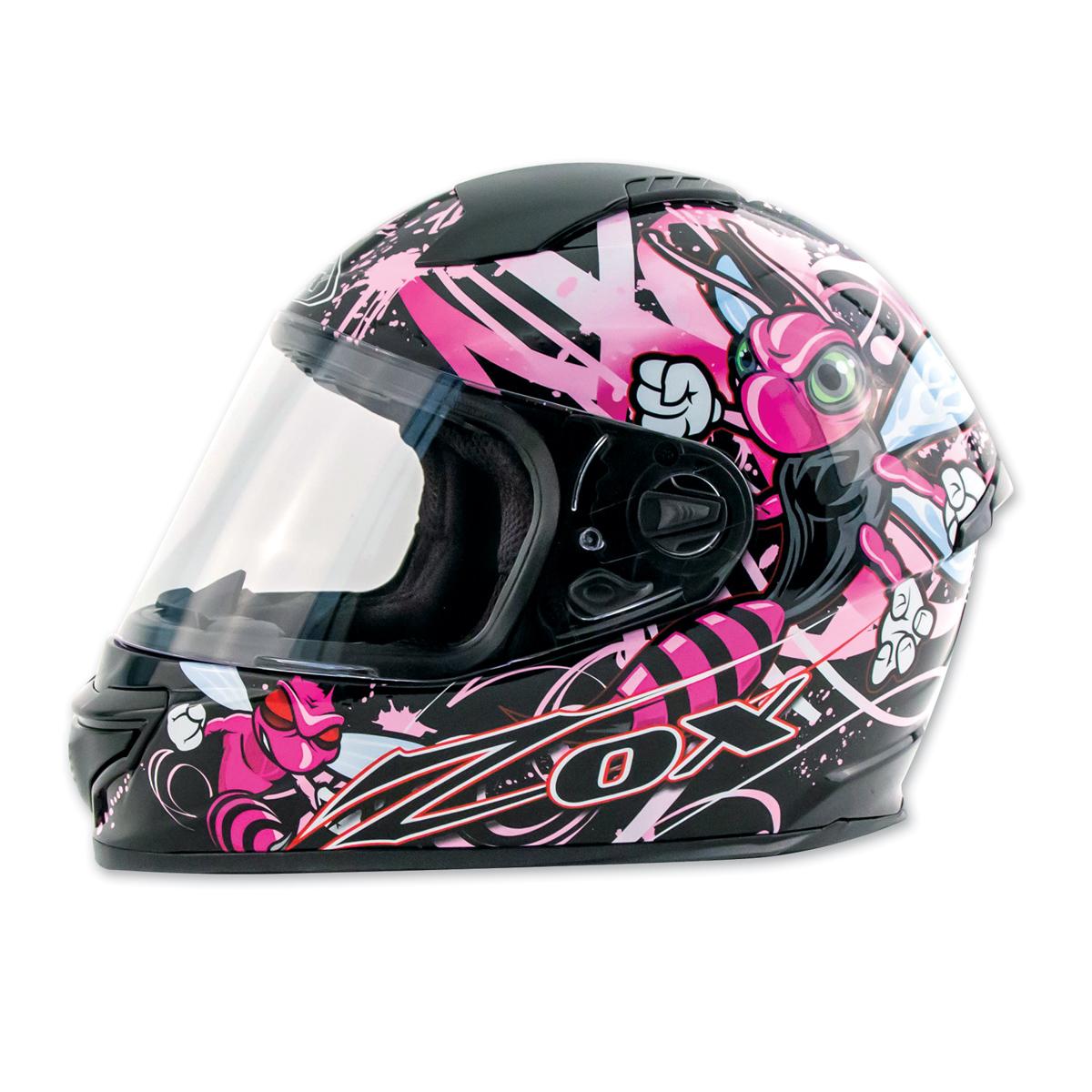 Zox Primo Junior Stinger Pink Full Face Helmet