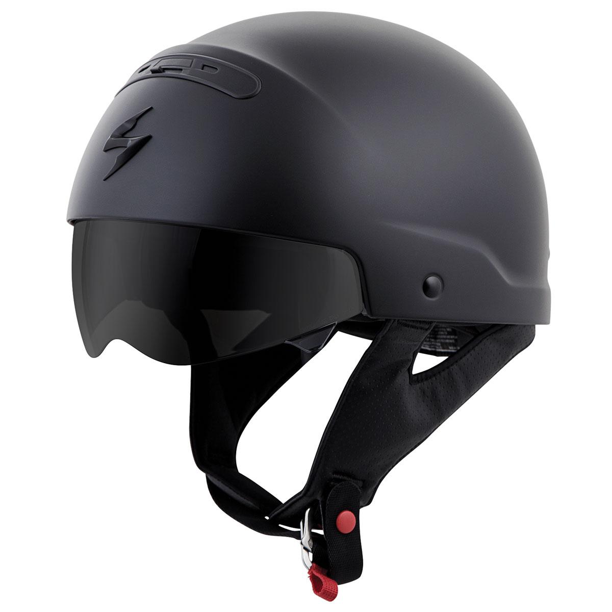 Scorpion EXO Covert Matte Black Half Helmet