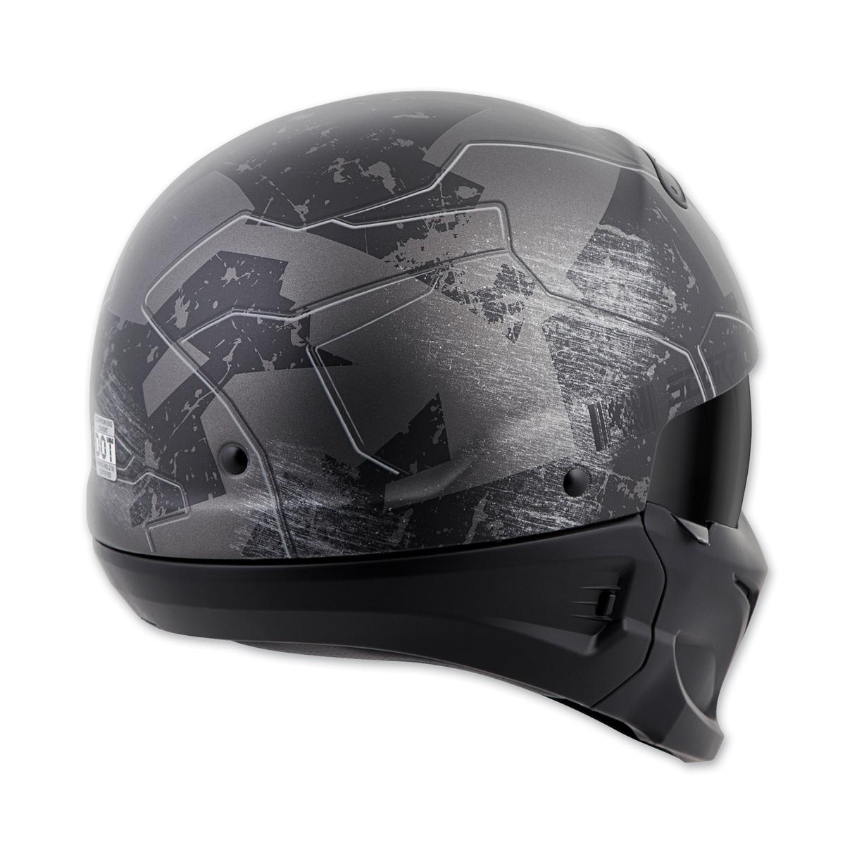 scorpion exo covert half helmet ebay. Black Bedroom Furniture Sets. Home Design Ideas