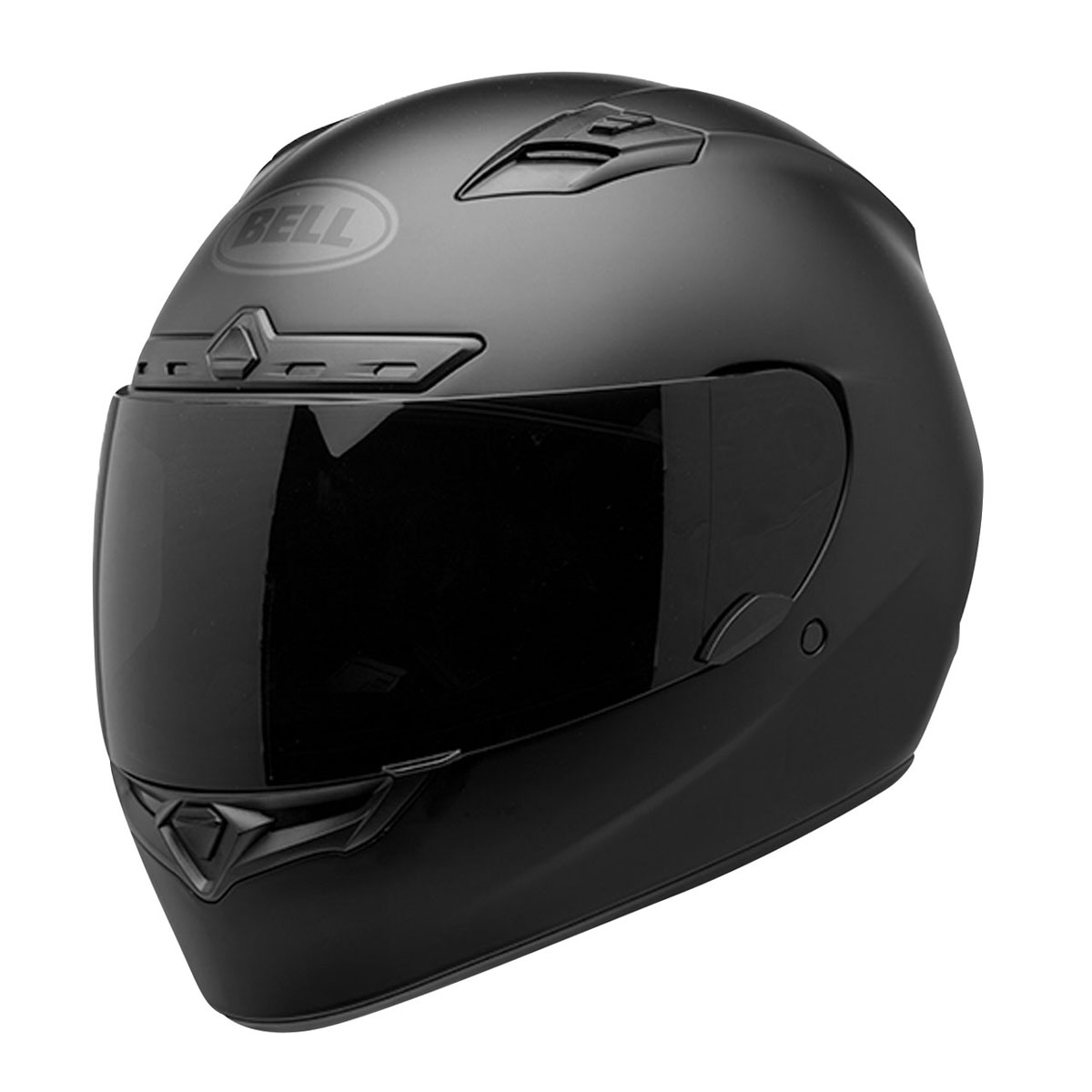 Bell Full Face Helmet >> Bell Qualifier Dlx Blackout Matte Black Full Face Helmet 7085219