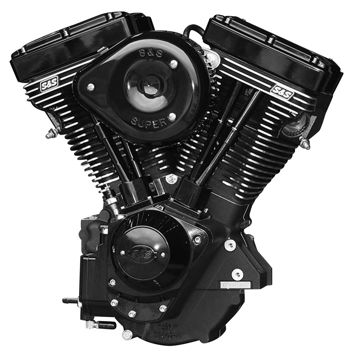 S&S Cycle V111 V Series Black Edition Complete Engine with 585 Camshaft