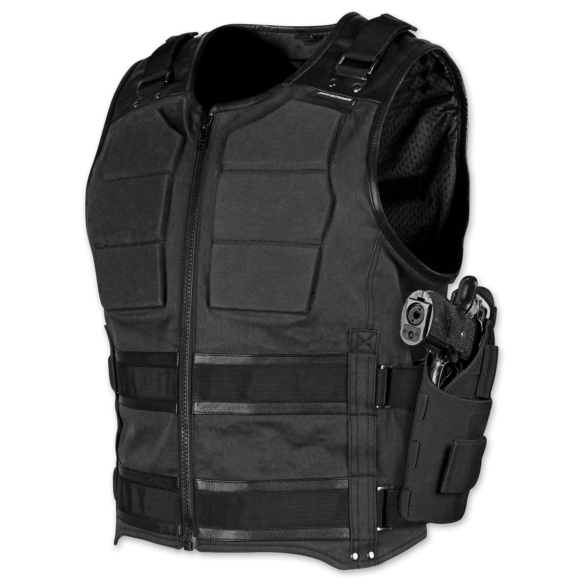 Speed and Strength Men's True Grit Armored Black Vest