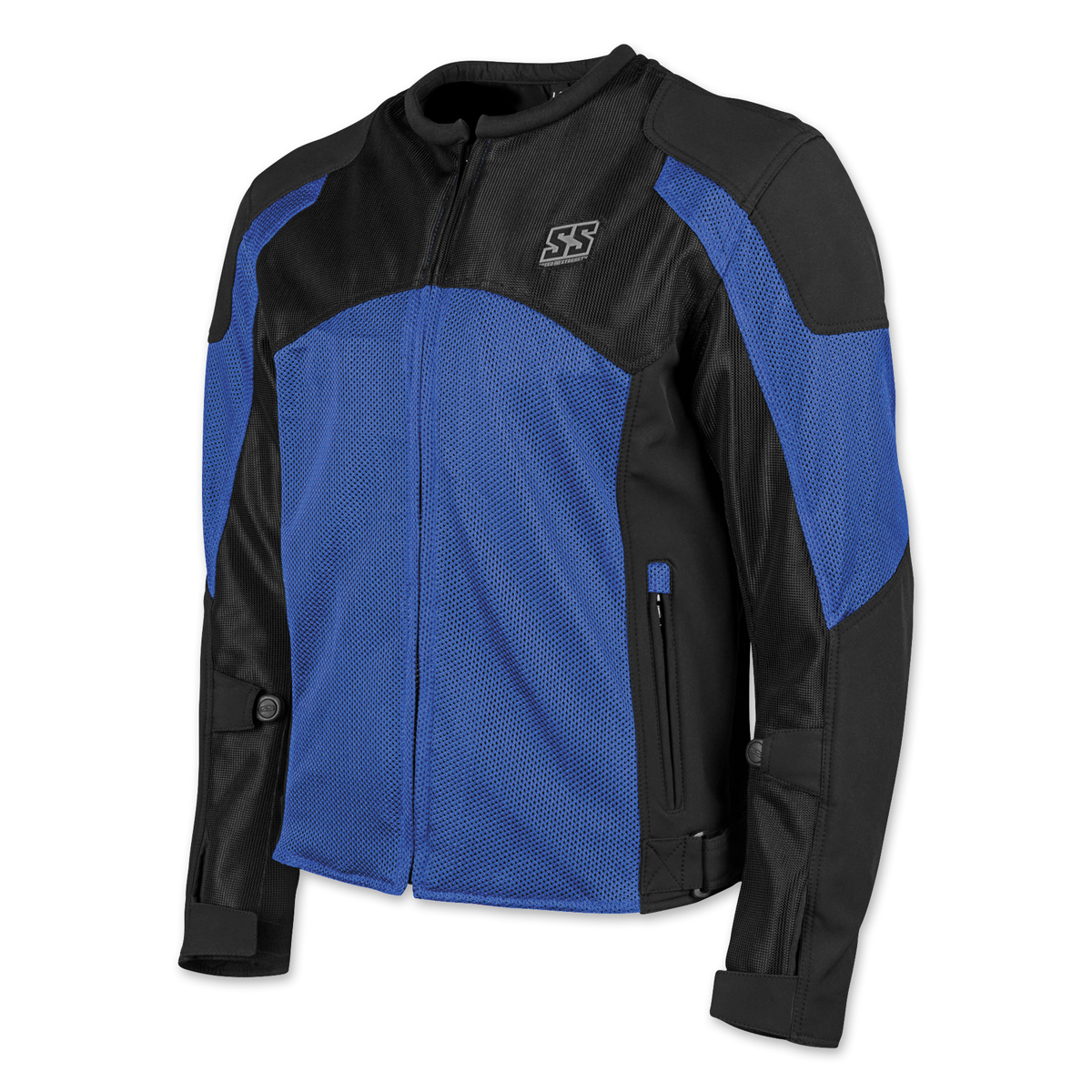 Speed and Strength Men's Midnight Express Blue/Black Mesh Jacket