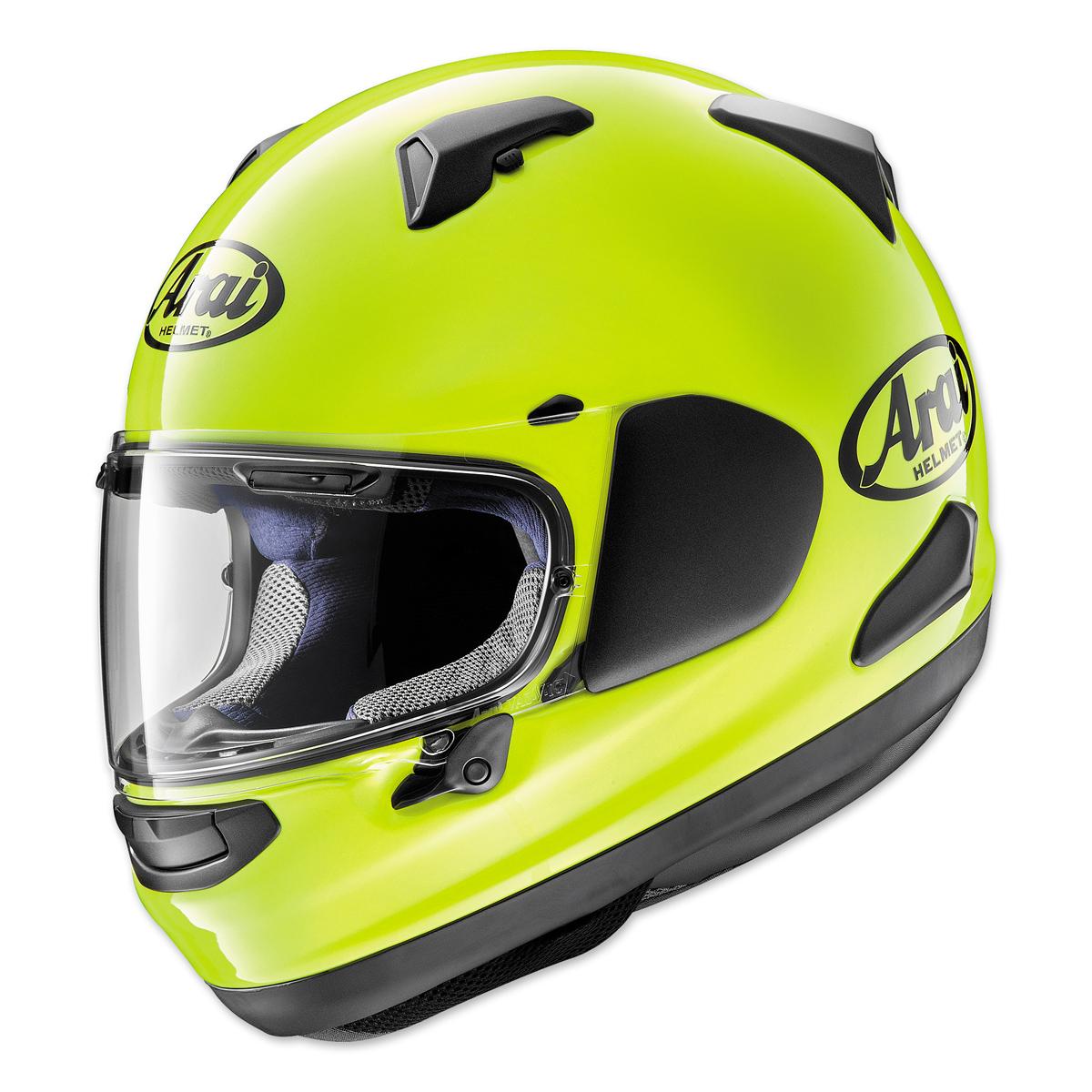 Arai Signet-X Fluorescent Yellow Full Face Helmet