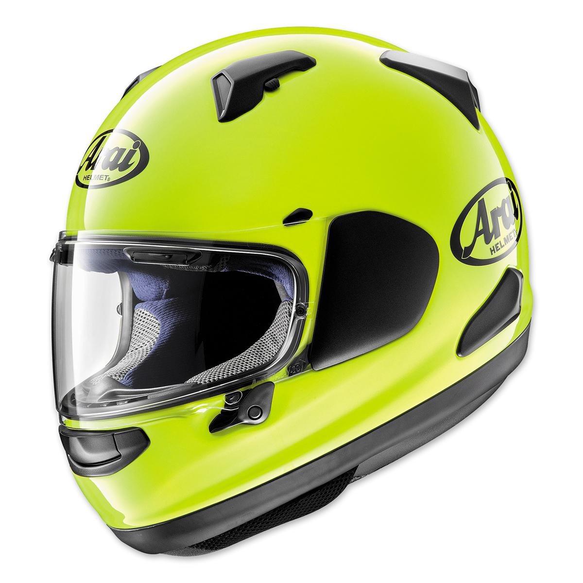 Arai Quantum-X Fluorescent Yellow Full Face Helmet