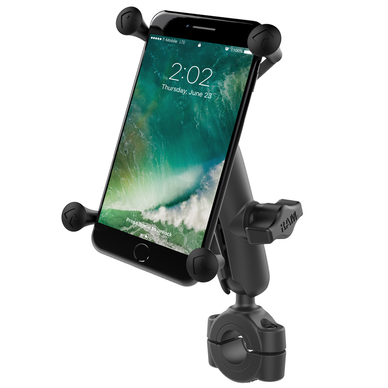 Ram Mount Torque Mount for  3/4″ to 1″ Handlebars with Large X-Grip