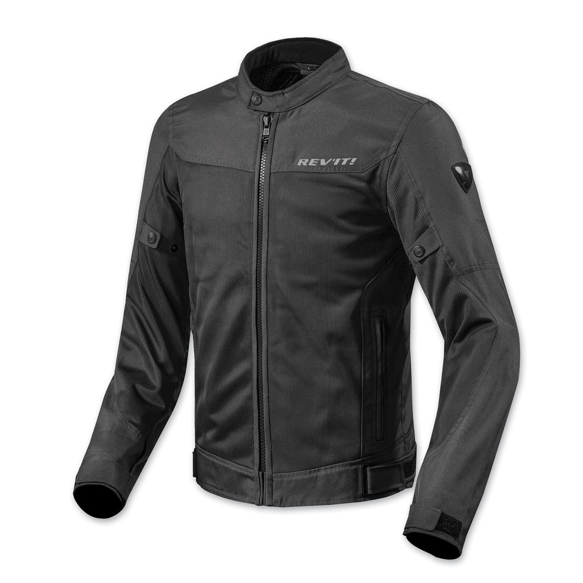 REV′IT! Men's Eclipse Black Jacket