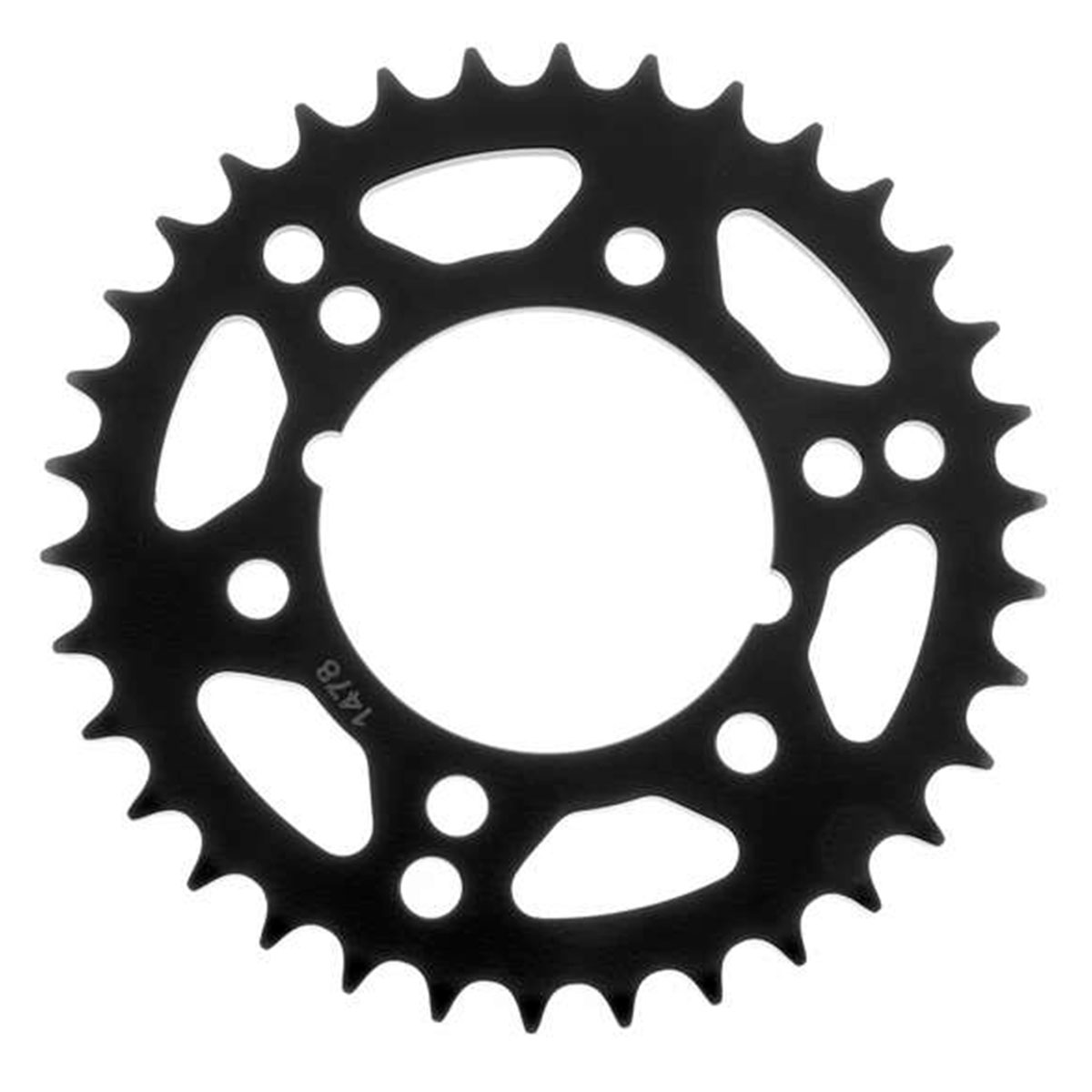 BikeMaster Black 520 Rear Sprocket 34 Tooth