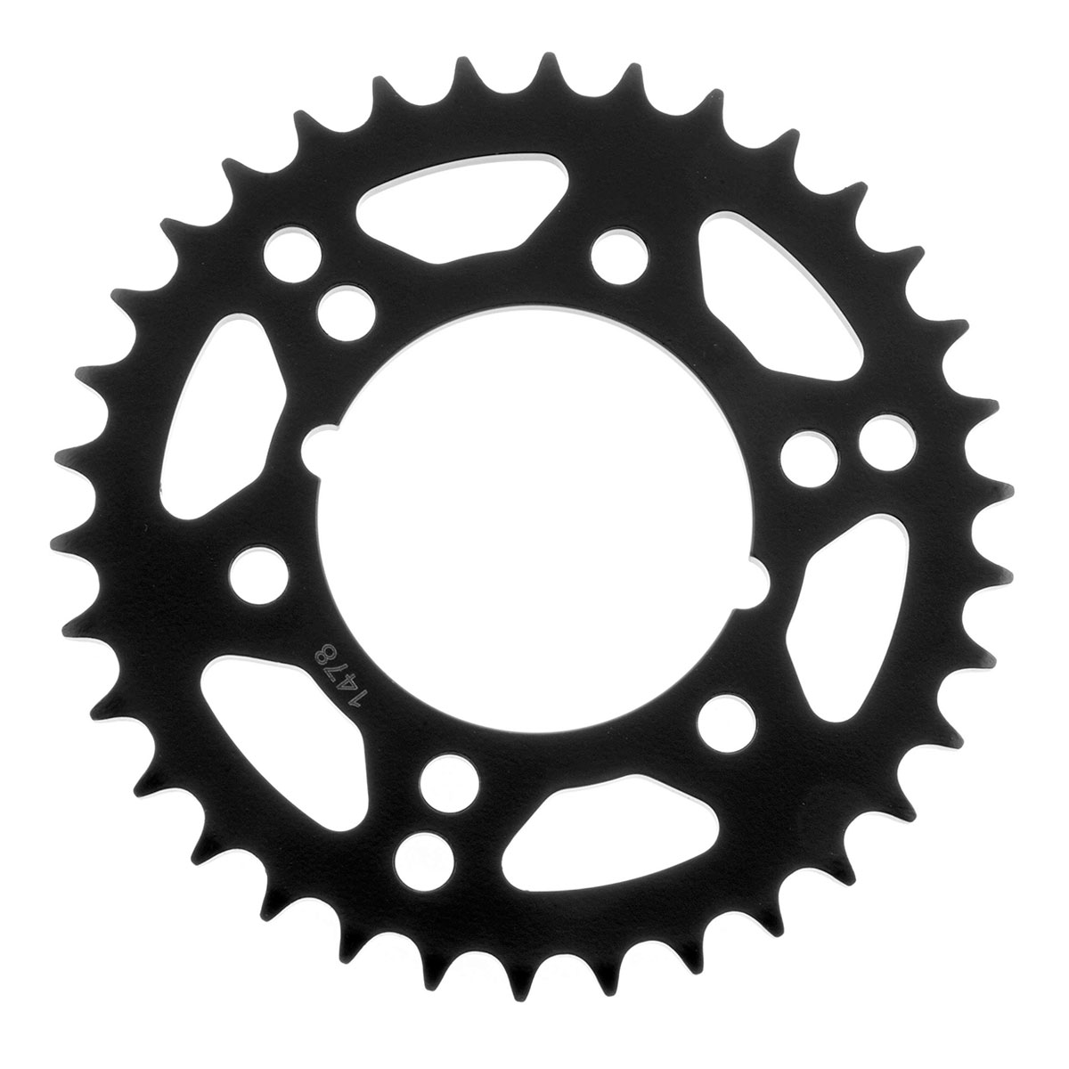 BikeMaster Black 520 Rear Sprocket 36 Tooth