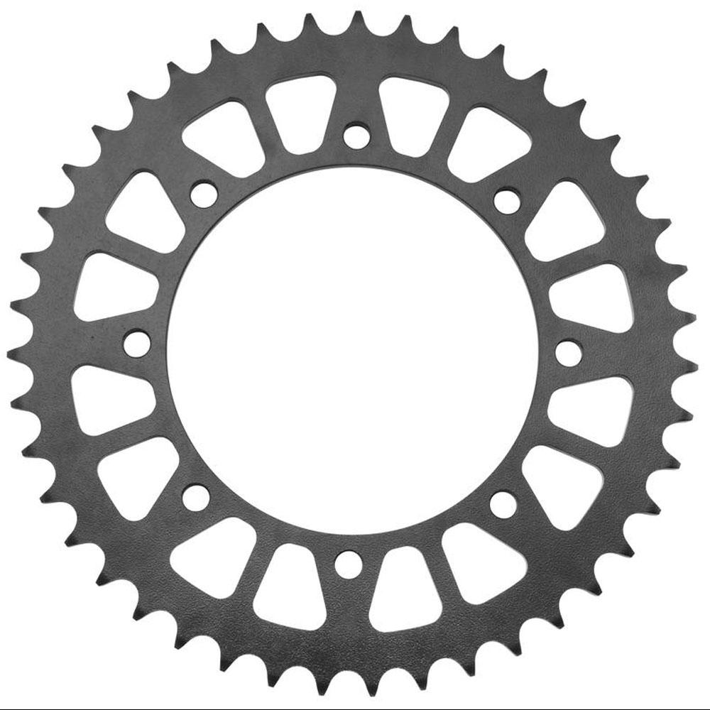 BikeMaster Black Steel 525 Rear Sprocket 38 Tooth