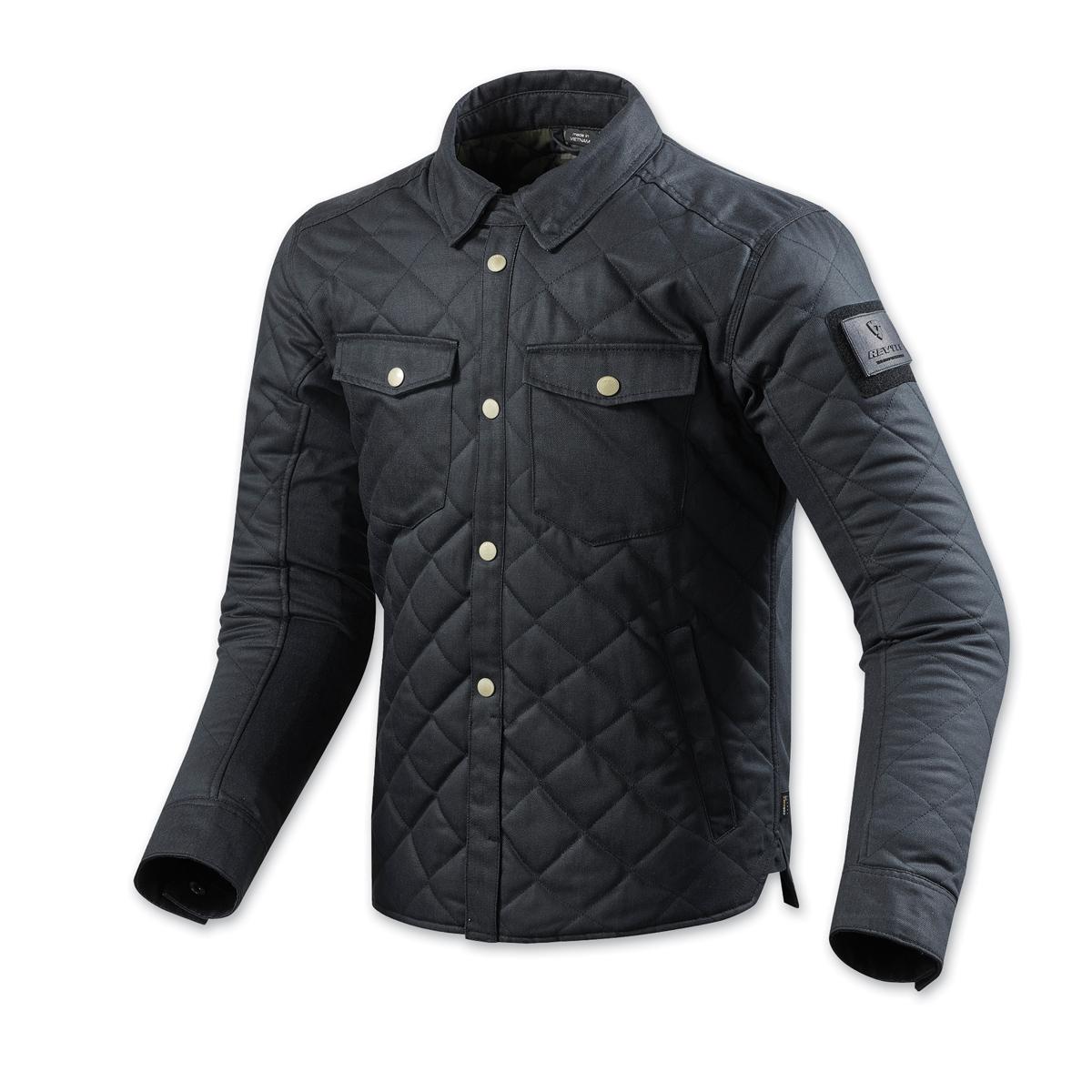 REV′IT! Men's Westport Dark Blue Overshirt