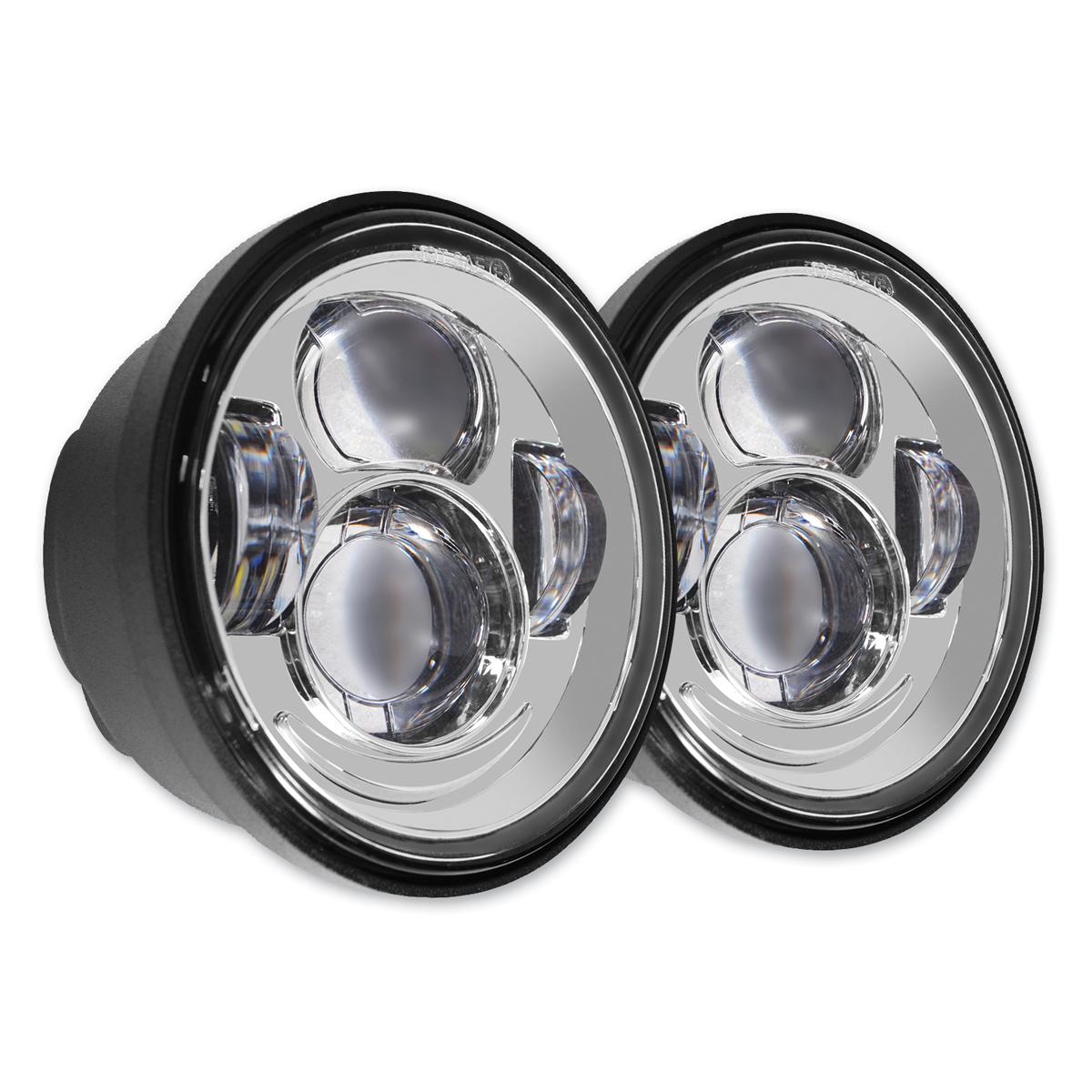 HogWorkz LED Chrome Headlight
