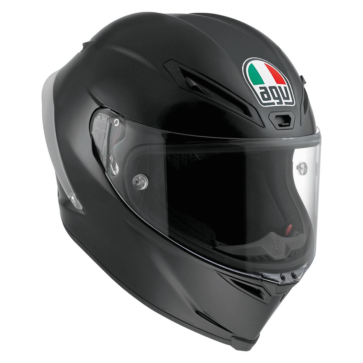 b1a2407a AGV Corsa R Matte Black Full Face Helmet - 6121O4HY002S | JPCycles.com