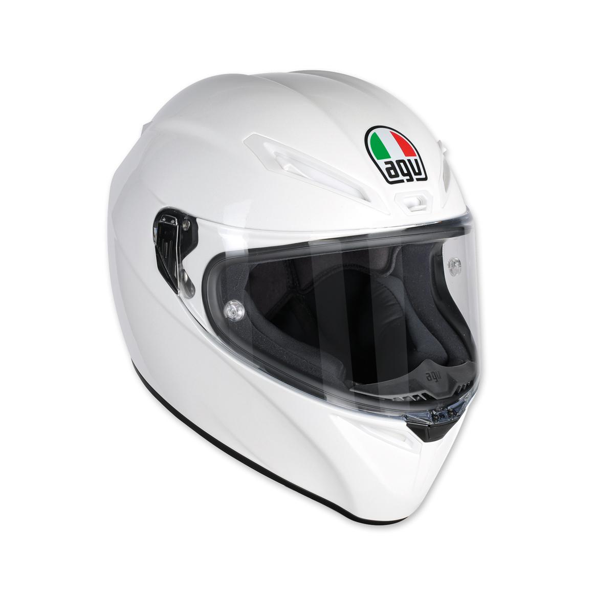 AGV Veolce S Pearl White Full Face Helmet