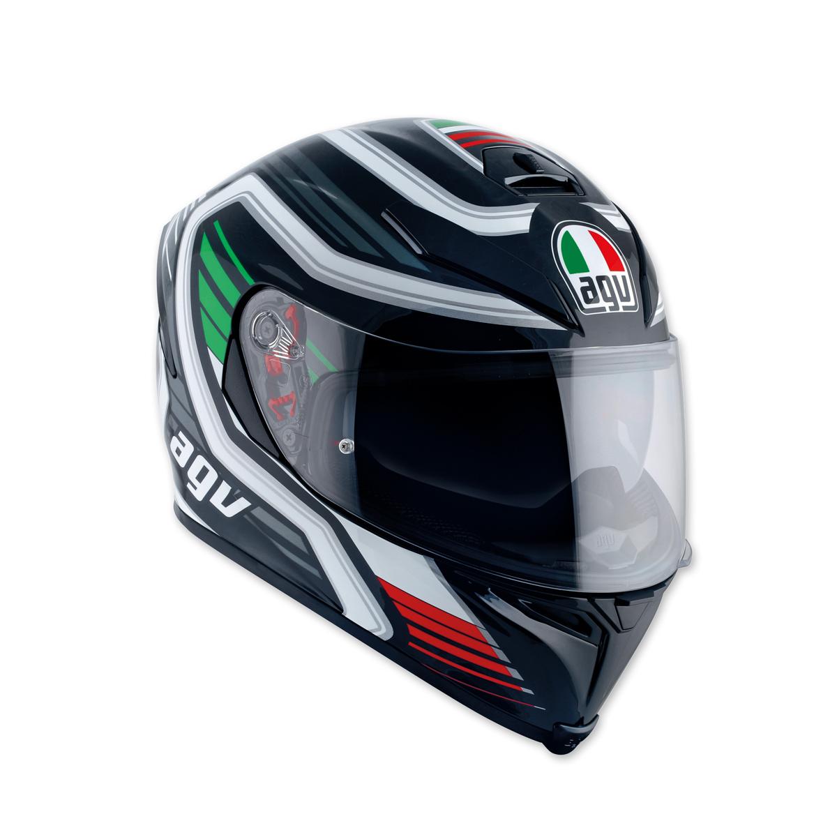AGV K-5 S Firerace Black/Italy Full Face Helmet