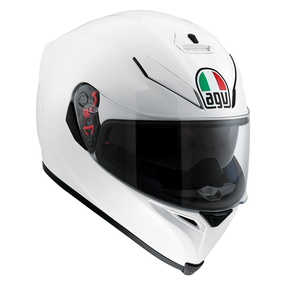 AGV K-5 S Pearl White Full Face Helmet