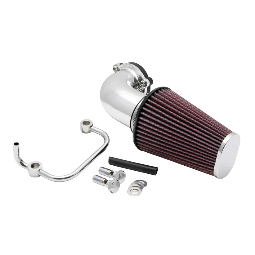 K&N 90° FIPK Performance Air Cleaner Intake Kit Polished