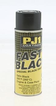 PJ1 Satin Black Engine and Crank Case Paint